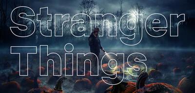 Stranger Things in Netflix Sans