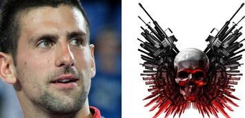 Bild zu:  Darf Novak Djokovic in Expendables 2 ordentlich zuschlagen?