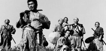 Bild zu:  Die sieben Samurai