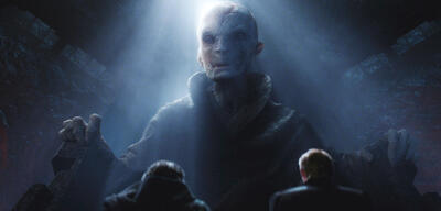 Snoke in Star Wars 7