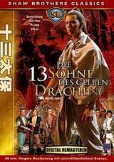 Die 13 Söhne des gelben Drachen - Poster