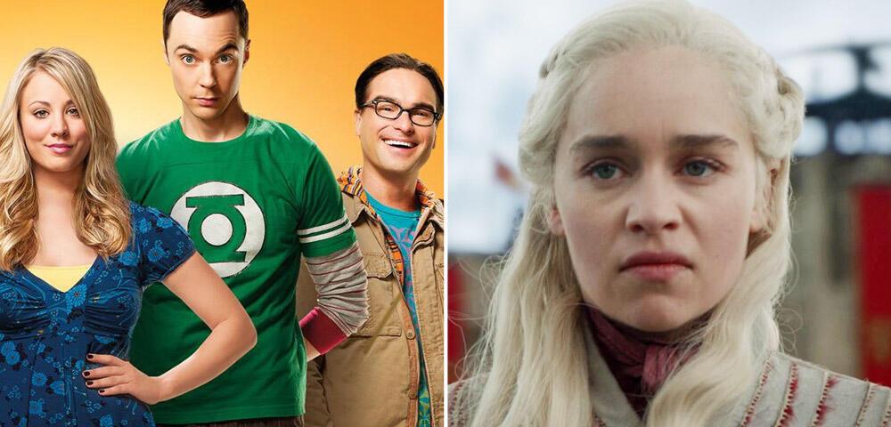 Starkes The Big Bang Theory-Finale wischt mit Game of Thrones den Boden auf