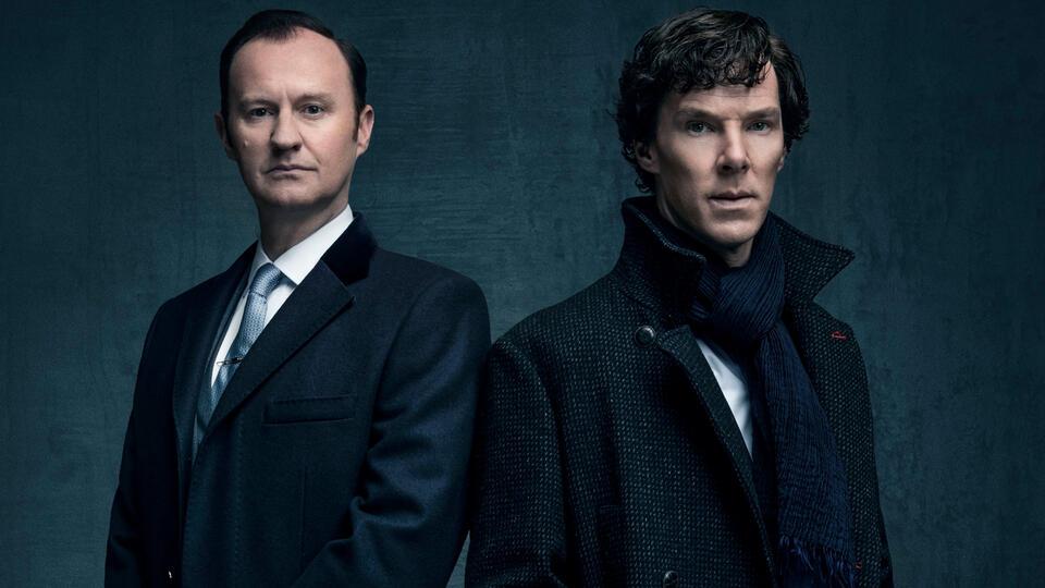 Sherlock Staffel 4 mit Benedict Cumberbatch und Mark Gatiss