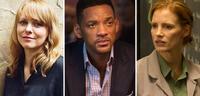 Bild zu:  Drei Mitglieder der Cannes-Jury: Maren Ade, Will Smith und Jessica Chastain