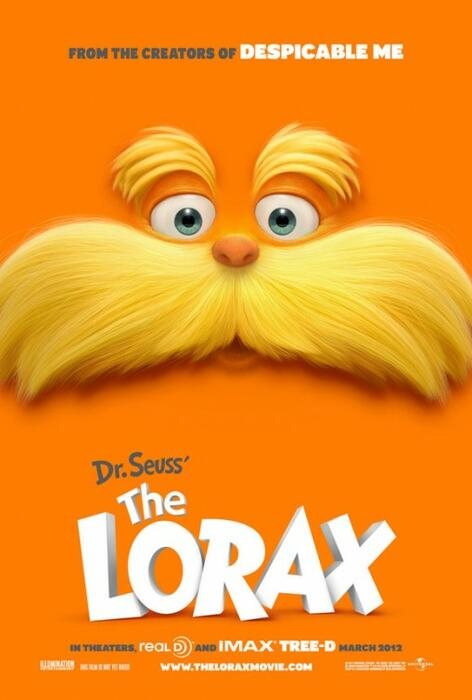 The Lorax US-Poster