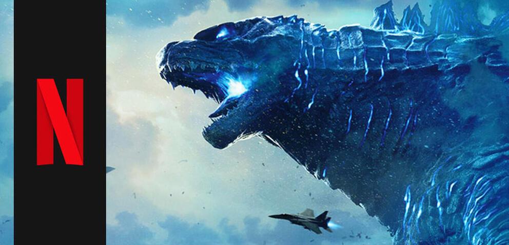 Godzilla stampft zu Netflix