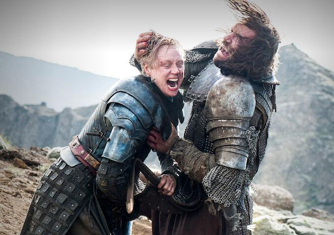 Game of Thrones - Staffel 4 mit Gwendoline Christie und Rory McCann