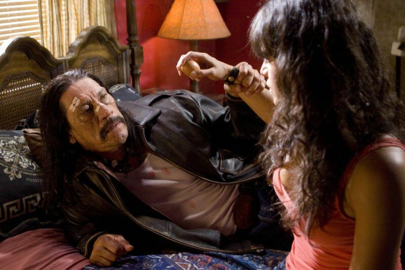 Machete mit Danny Trejo und Michelle Rodriguez