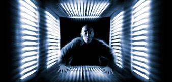 Poster-Ausschnitt zum Kult-Science-Fiction-Film Cube