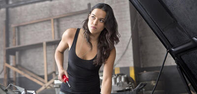 Michelle Rodriguez im Fast & Furious-Franchise