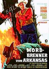 Mordbrenner von Arkansas - Poster