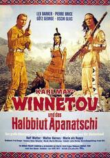 Winnetou und das Halbblut Apanatschi - Poster