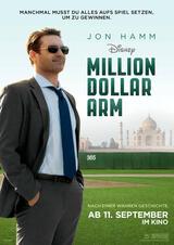 Million Dollar Arm - Poster