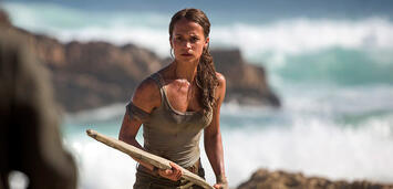Bild zu:  Tomb Raider mit Alicia Vikander als Lara Croft