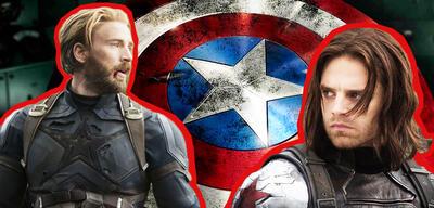 Captain America und Bucky Barnes