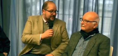 Peter Groeger (rechts) auf der SherloCON 2016