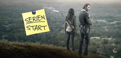 Rick und Michonne blicken in das Ungewisse