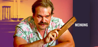 David Harbour in Stranger Things 3
