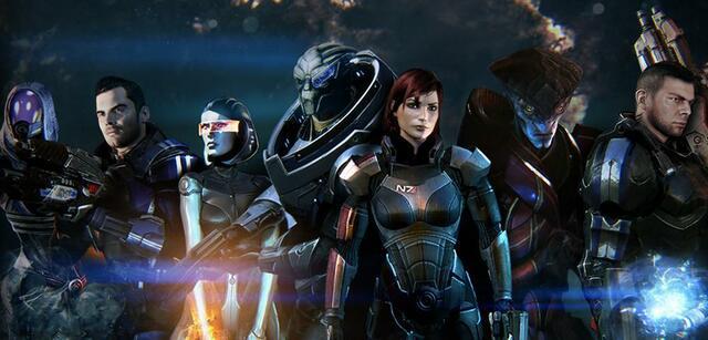 Kommen alle drei Mass Effect-Teile nochmal?