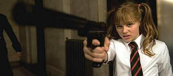 Chloe Moretz als Hit-Girl in Kick-Ass