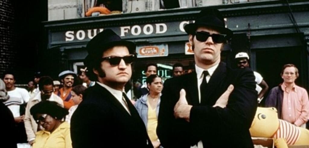 So sahen die Blues Brothers 1980 aus.