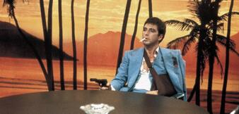 Al Pacino in Scarface (1983)