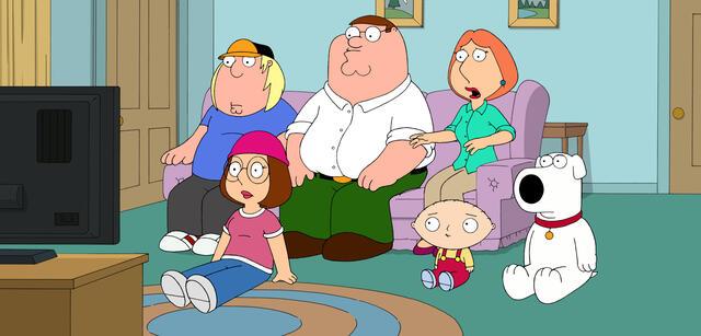 Noch mehr Family Guy im TV