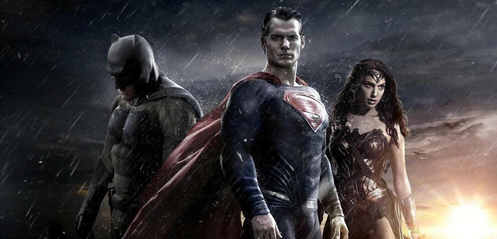 Batman, Superman und Wonder Woman