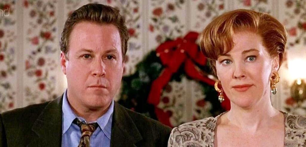 John Heard undCatherine O'Hara in Kevin - Allein in New York