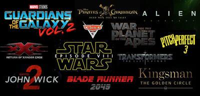 Titel kommender Sequels