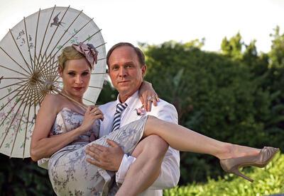 Ulrich Tukur und Jeanette Hain als Dieter Glanz und Gloria.