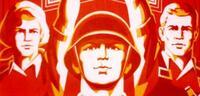 Bild zu:  Sowjetisches Propagandaposter