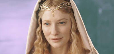 Cate Blanchett als Galadriel in der Der Herr der Ringe-Trilogie