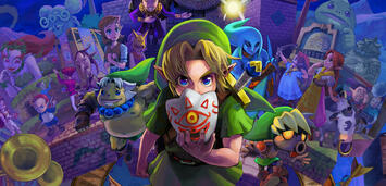 Bild zu:  The Legend of Zelda: Majora's Mask 3D