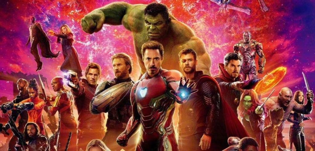 Die Avengers in Infinity War