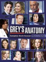Grey's Anatomy - Staffel 6 - Poster