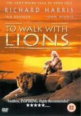To Walk with Lions - Jagd in Afrika - Poster