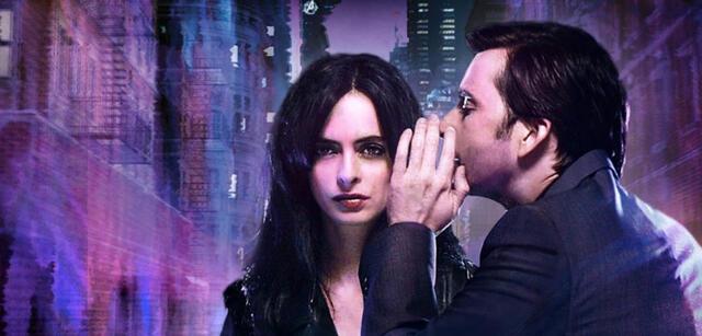 Marvel's Jessica Jones mit Krysten Ritter undDavid Tennant