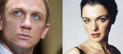 Daniel Craig vs. Rachel Weisz