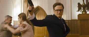 Alles nur geklaut? Colin Firth in Kingsman: The Secret Service