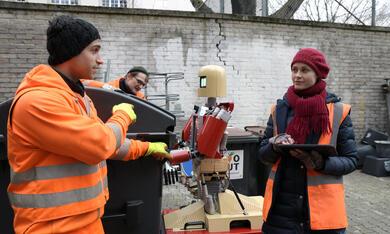 Die Drei von der Müllabfuhr - Dörte muss weg mit Inez Bjørg David, Daniel Rodic, Rainer Strecker und Jörn Hentschel - Bild 3