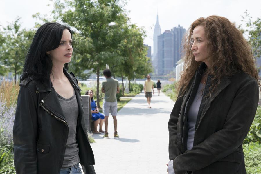 Marvel's Jessica Jones - Staffel 2 mit Krysten Ritter und Janet McTeer