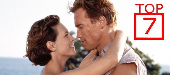 Arnie und Jamie Lee nach bestandener Mission