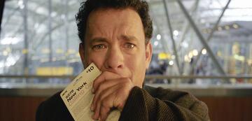 Tom Hanks weint in Terminal