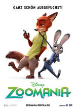 Zoomania Poster