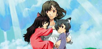Ame & Yuki mit ihrer Mutter