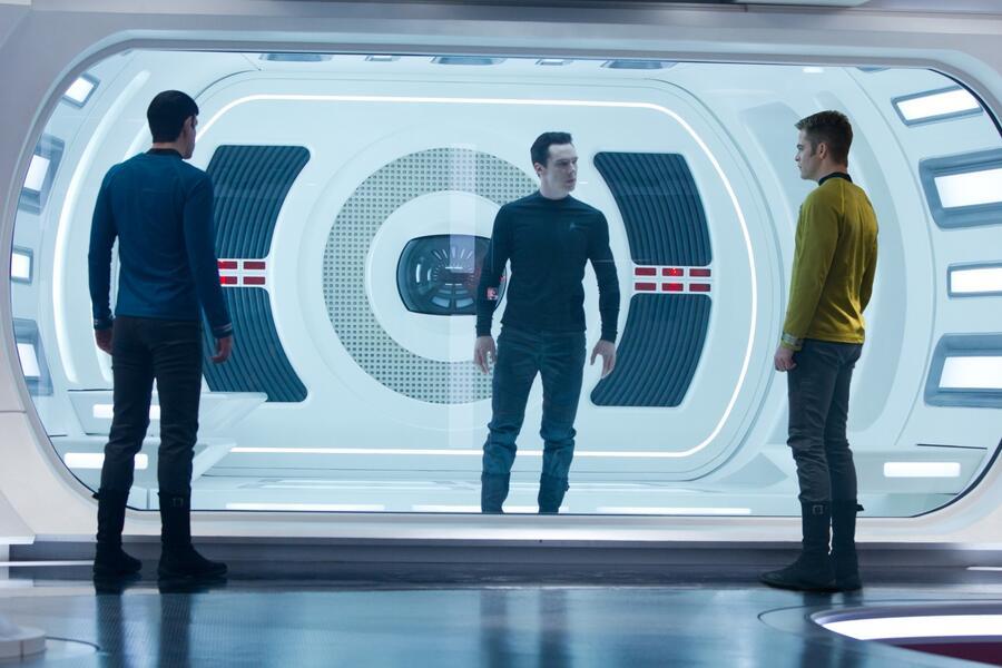 Star Trek Into Darkness mit Benedict Cumberbatch