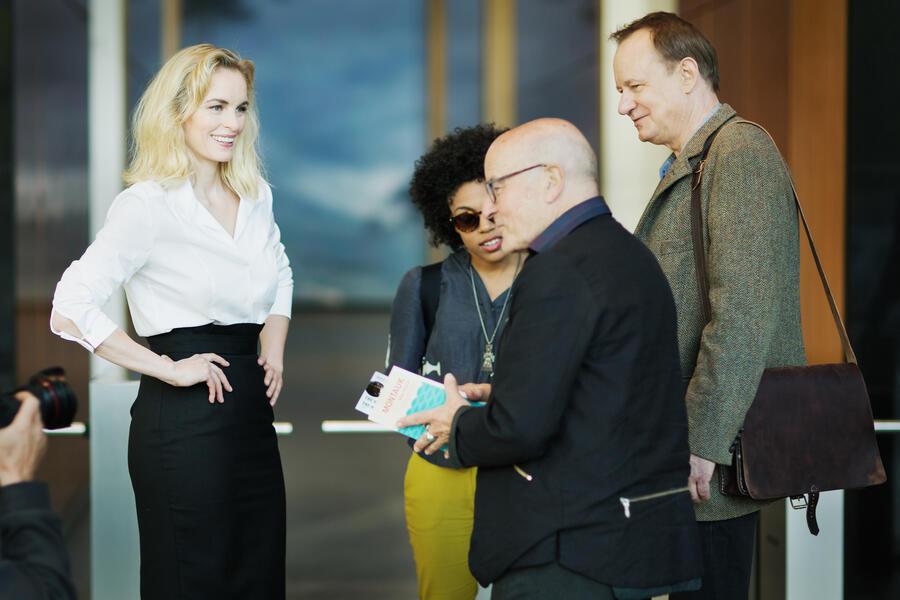 Rückkehr nach Montauk mit Stellan Skarsgård, Nina Hoss und Volker Schlöndorff