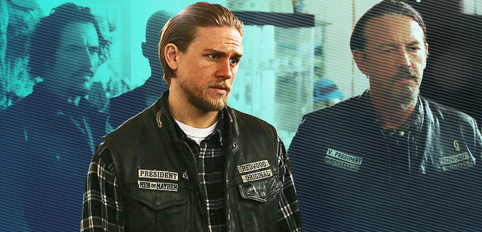 Charlie Hunnam als Jax Teller in Sons of Anarchy