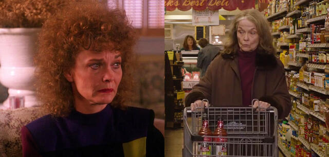 Grace Zabriskie in Twin Peaks 1990 und 2017